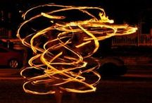 Fire hooping / by Hipnotic Hoopla
