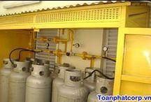 Hệ thống Gas công nghiệp / Hệ thống gas công nghiệp được thi công bằng ống thép đúc & dây van gas, các thiết bị gas đảm bảo an toàn tuyệt đối, tiện lợi & tiết kiệm trong quá trình sử dụng gas. LH 0902 680 199 (Mr Kiên)