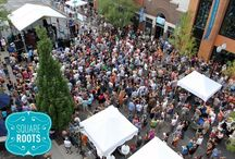 Square Roots / Brought to you by the Chamber and Old Town School of Folk Music, Square Roots is a 3-day street festival bringing out the greatness our community has to offer! Square Roots will feature more than 60 musical acts at 2 outdoor and 2 indoor stages. We're offering local food and market vendors and pouring more than 30 different types of craft beers. The festival kicks off on  Friday, July 12 and runs through Sunday, July 14 on Lincoln Avenue, between Montrose and Wilson. SquareRoots.org