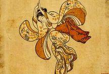 Ukiyo-e, Shin-hanga and other woodblock prints / by Marga AT