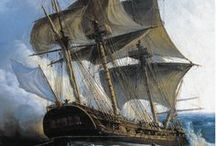 History of a Revolution / Commemorating the original Hermione frigate and the Marquis de Lafayette, who sailed on this ship from France to the U.S. to support the Americans during the Revolutionary War.