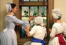 Colonial Holiday / Holiday celebrations—18th Century Style.