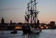 La Rochelle 2015 / The Hermione arrives in La Rochelle as she prepares for her 2015 journey.