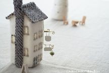 ChikuChiku*BanBan ieLamp Miniature House