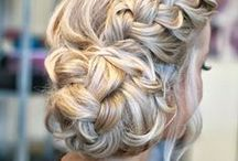 Hair Inspiration / Inspiration for everyday hairdos and some beautiful formal updos.