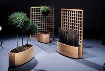 Planter Boxes / Solid timber planter boxeds in Beech, Ash or Oak.   Exterior planters avaialble in Iroko and Red Cedar.
