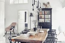 Furn ❥ Diningroom ideas and inspiration / Inspiration for the Diningroom