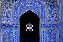 Blu di Persia / Il colore rappresentativo dell'Iran in tutte le sue declinazioni
