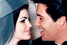 Elvis and Priscilla Presley / Priscilla Presley