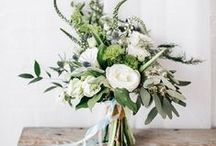 *Bouquets de mariée - bride's bouquet* / De jolis bouquets de fleurs, sauvages et stylés pour des mariées modernes. / by Elodie Love & Tralala