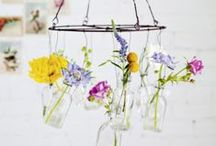 *Autres inspirations fleuries - others floral arrangments* / Des inspirations fleuries pour des montages sauvages et stylés pour une fête ou un mariage délicatement fleuri.
