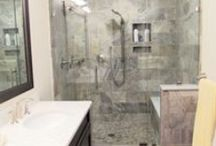 Bathrooms / Some of the beautiful bathrooms that we have remodeled.