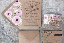 Invitaciones de boda / Las invitaciones de boda más bonitas