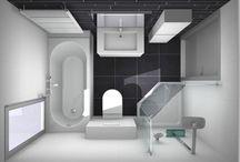 Badkamer / Kleine badkamer inspiratie