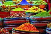 Temperos e feiras ! / De cheiros e cores são feitas as feiras, e eu amo essa mistura !