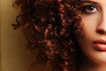 Curly Hairstyles / Beautiful curly hairstyle over the world.