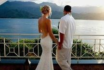 Beach Wedding Gowns and  Dresses / Consider a loose flowing gown or dress.  You'll be able to move effortlessly.  If you're comfortable, you'll enjoy your wedding so much more.  Your wedding gown should reflect who you are at this moment in your life.  It doesn't have to be white, it's what you want it to be.