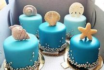 Beachy Wedding Cakes / Always ask if your cake is baked fresh by the bakery you buy it from.