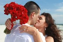 Beach Bride Weddings LLC website photos / Real weddings with real people.  Become part of the celebration.  Let us help you get married on the beaches of the Gulf Coast.