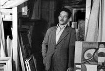 Adolph Gottlieb (1903-1974) / Adolph Gottlieb, né le 14 mars 1903 à New York et mort le 4 mars 1974 dans la même ville1, est un peintre expressionniste abstrait et un sculpteur américain, membre fondateur du groupe The Ten créé en 1935.  Gottlieb a étudié les beaux arts à la Parsons The New School for Design de New York.  Il fait partie du mouvement expressionniste abstrait (cf expressionnisme abstrait). Il sera fortement influencé par la peinture de Cézanne, de Matisse et de Fernand Léger lors de ses études à Paris.