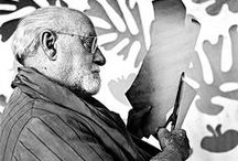 H. Matisse (1869-1954) Collage / H. Matisse (1869-1954) est un peintre, dessinateur, graveur et sculpteur français. Figure du xxe siècle, son influence sur l'art de la seconde partie du siècle est considérable par l'utilisation de la simplification, de la stylisation, de la synthèse et de la couleur comme seul sujet de la peinture pour les nombreux peintres figuratifs ou abstraits qui se réclameront de lui. Il fut le chef de file du fauvisme. De Picasso à Warhol, tous ont été confrontés à sa gloire et son génie.