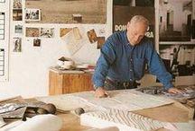 Richard Serra (1939- ) / Richard Serra, né le 2 novembre 1939 à San Francisco, est un artiste d'art contemporain américain.  Il est rattaché au minimalisme et est connu pour ses sculptures en métal. Il a également réalisé des films. Il vit et travaille à New York et en Nouvelle-Écosse.