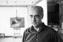 Esteban Vicente Pérez (1903-2001) / Esteban Vicente Pérez (20 Janvier, 1903 - Janvier 10, 2001), était un peintre américain né en Turégano, Espagne. Il était l'un de la première génération de New York School expressionnistes abstraits.