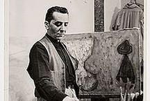 William Baziotes (1912-1963) / William Baziotes est un peintre américain, né en 1912 à Pittsburgh (Pennsylvanie) et mort en 1963 à Reading (Pennsylvanie). Parmi les représentants de l'expressionnisme abstrait, il est celui qui a été le plus influencé par les formes biomorphiques et les procédés automatiques du surréalisme.