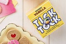 Tick Tock tea in the Mollie Makes cafe! / Tick Tock celebrates good craftsmanship and fun design, from its hand-harvested teas to iconic colourful packaging. Visit Tick Tock tea in the Mollie Makes café at the Handmade Fair to enjoy the full range of naturally caffeine free rooibos teas.