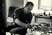 Pablo Palazuelo (1915-2007) / Pablo Palazuelo, né le 8 octobre 1915 à Madrid et mort près de là, à Galapagar, le 3 octobre 2007 (à 91 ans), est un peintre, graveur et sculpteur espagnol contemporain. Il est une figure-clé de l'art espagnol de la seconde moitié du xxe siècle.