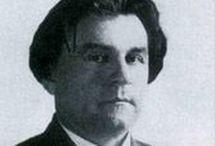 Kasimir Malevich (1878-1935) / Kasimir Severinovitch Malevitch (en russe : Казимир Северинович Малевич ; Kazimir Severinovič Malevič ; en polonais : Kazimierz Malewicz), né à Kiev (Empire russe) le 23 février (11 février) 1878 de parents polonais et mort le 15 mai 1935 à Léningrad à l'âge de 57 ans d'un cancer1, est un des premiers artistes abstraits du xxe siècle. Peintre, dessinateur, sculpteur et théoricien, Malevitch est le créateur d'un courant artistique qu'il dénomma « suprématisme ».
