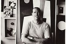 Ch. Green Shaw (1892-1974) / Charles Green Shaw (1 May 1892 – 2 April 1974) was an American painter and writer.  A significant figure in American abstract art, Shaw enjoyed a varied career as a writer and illustrator, poet, modernist painter, and collector.