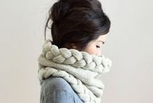 Inspiration - Knitted Scarves
