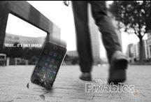 The Fixables / Relax... it's only broken.    The Fixables repareren je smartphone of tablet snel en vakkundig. Als je wil wachten, kan dat in onze gezellige lounge met heerlijke koffie en WiFi