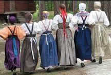 Feresi ja mekkokuvasto / Kansallispukuja - mekkovinkkejä