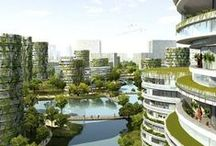 Eco Cities / In this board you can find beautiful cities with lots of green architecture.