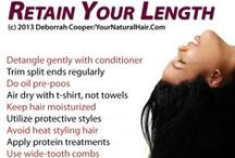 Hair How Tos / Hair Tutorial Central! #yhyc #hair #tutorials http://yourhairyourchoice.com