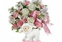 New Baby gifts by Fresh Bloomers flowers & gifts www.bloomersaz.com / New baby... Send flowers. Bloomers Flower shop delivers flowers and baby gifts.