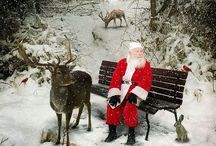 Christmas with Santa / Welcome to my boards. Please feel free to pin as many as you want. There is no limit on any of my boards. Enjoy them. / by Oma's Fabric and Gifts