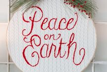 Christmas - Indoor Decorating / Welcome to my boards. Please feel free to pin as many as you want. There is no limit on any of my boards. Enjoy them. / by Oma's Fabric and Gifts