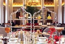 Afternoon Tea at Colonnades / The Colonnades is a tea salon located in the Signet Library just off the Royal Mile in Edinburgh. Top rated on TripAdvisor. Book http://bit.ly/1HdITzN