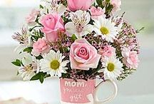 Flowers & Gifts for Moms, grandmother's, sisters, daughters by Fresh Bloomers Flowers and gifts. Floral bouquets, Gifts, Plants, gift baskets. DIY ideas / Flowers and gifts for Moms