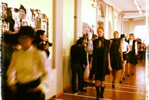 Live Instantgram / Instantgram pics of final Fitting for Talents 2013 Fashion Show of Accademia di Costume e di Moda