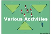 BALL CONTROL SOCCER DRILLS / The drills in this section will increase your players'  comfort level on the ball working with various parts including the feet, thigh, chest and head which are all relevant to skills the players will need on the field.