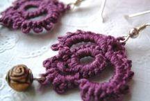 Crochet Earrings / Cute ideas for crochet earrings