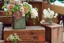 Wooden boxes / Dřevěné bedýnky a krabice