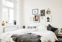 Interiors / Minimal Scandinavian, industrial inspired interiors. Plants are the finishing touch.