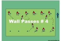 PASSING SOCCER DRILLS / In this section you will find a series of progressive soccer drills that give you some great advice on how to coach these skills to your players.