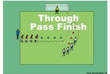FINISHING SOCCER DRILLS / To learn and develop the skill of finishing with success requires practice and diligence and every player and coach enjoys a session that contains some element to develop this important core skill.
