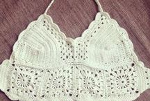 Handmade Crochet tops by Iselin / Handmade by me :)